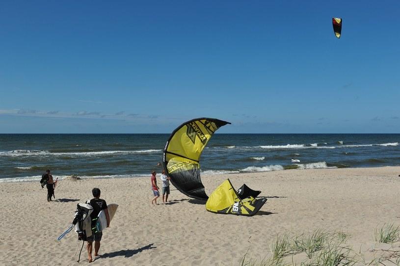 Plaża w Łazach /East News
