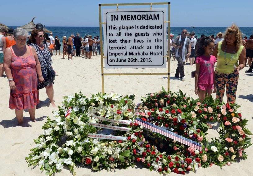 Plaża w Susie. W czerwcu zamordowano tu 38 osób /AFP