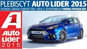 Plebiscyt Auto Lider 2015 - głosuj i wygraj Forda Focusa RS!