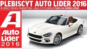 Plebiscyt Auto Lider 2016 - głosuj i graj o Fiata 124 Spider!
