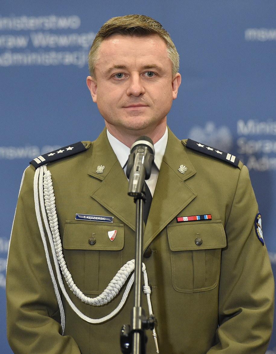 Płk Tomasz Kędzierski /Radek Pietruszka /PAP