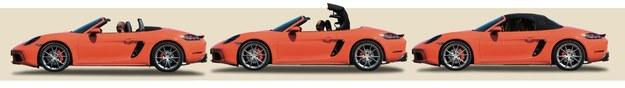 Płócienny dach składa się i rozkłada automatycznie podczas jazdy z prędkością do 50 km/h. Dobrze izoluje od świata zewnętrznego. /Motor