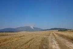 Płoną lasy na Babiej Górze [Zdjęcia z Gorącej Linii RMF FM]