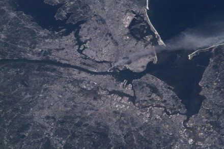 Płoną wieże WTC na Manhattanie /AFP
