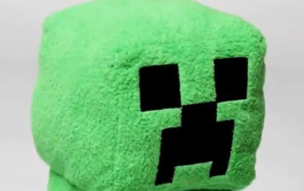 Pluszowy Creeper /Informacja prasowa