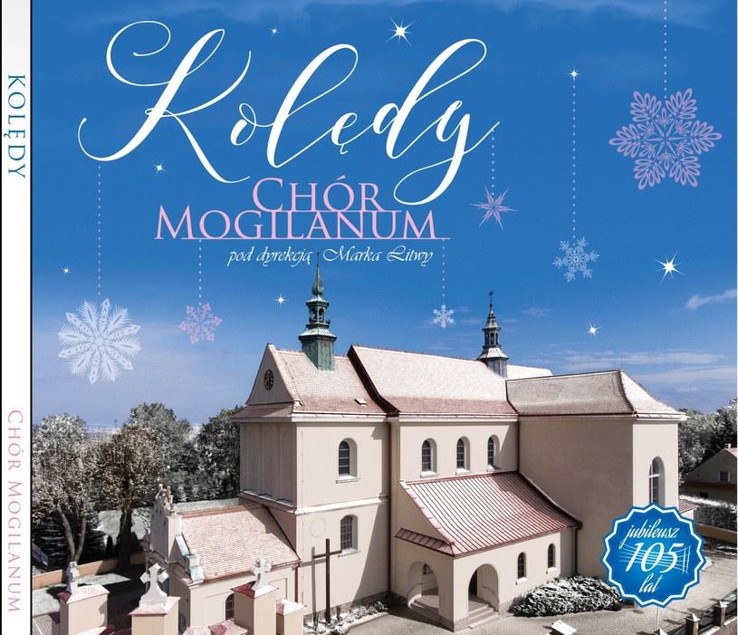 Płyta Mogilanum z kolędowym repertuarem /materiały prasowe