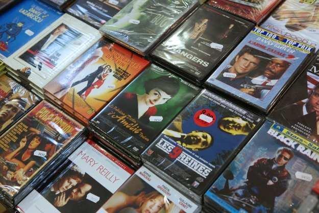 Płyty DVD odchodzą w przeszłość... /AFP