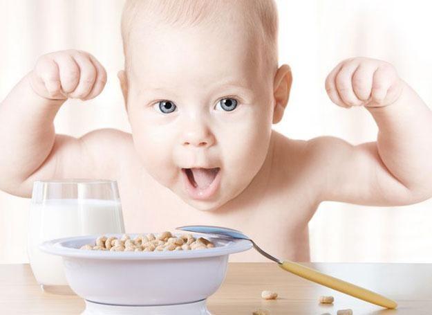 Po 1. urodzinach w jadłospisie malucha muszą się znaleźć różne produkty mleczne