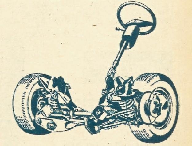 Po 20 latach zawieszenie kolumnowe-systemu Mc Pherson ustąpiło miejsca klasycznemu już układowi dwóch wahaczy poprzecznych nierównej długości. /Ford