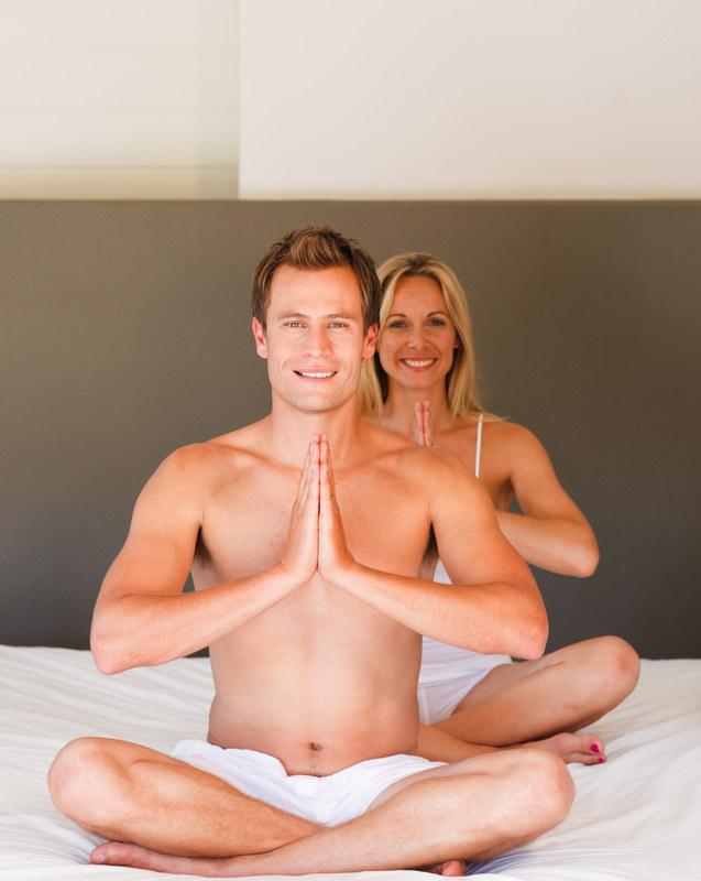 """Po godzinie praktyki każdy """"jogin"""" czuje się całkowicie wyluzowany i wzmocniony  /© Panthermedia"""
