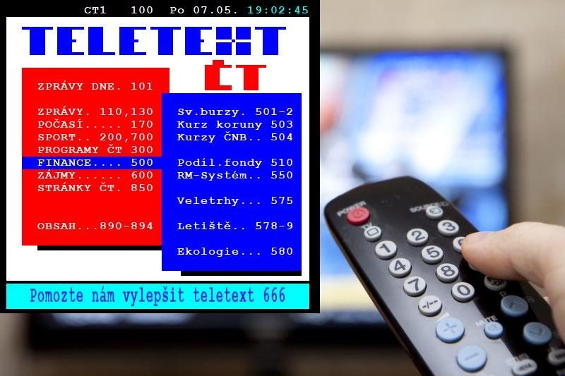 Po lewej teletekst dostępny przy ČT1 HD Tyle można podejrzeć w momencie publikacji tekstu  Zrzut ekranu teletekstu od Sat Kuriera /123RF/PICSEL