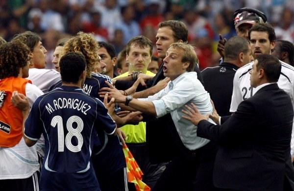 Po meczu Niemcy-Argentyna doszło do bijatyki /AFP