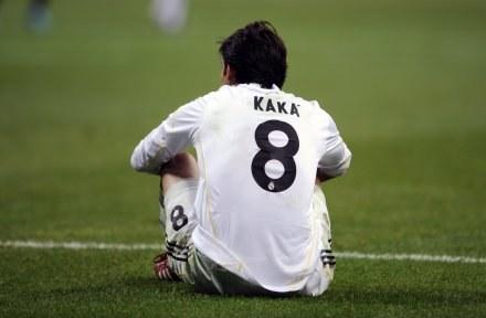 Po meczu w Mediolanie Kaka nie był w najlepszym nastroju. /AFP