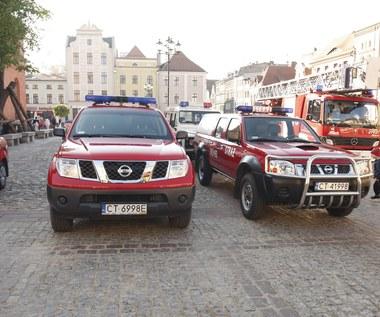 Po pijanemu ukradł wóz straży pożarnej