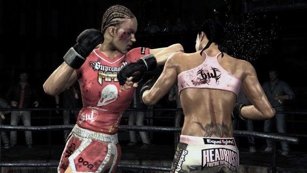 Po takiej walce dziewczyny na pewno będą musiały skorzystać z chirurgicznego skalpela /INTERIA.PL