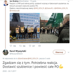 PO zawiadomiła prokuraturę o twitterowym wpisie radnego z Nowogrodu
