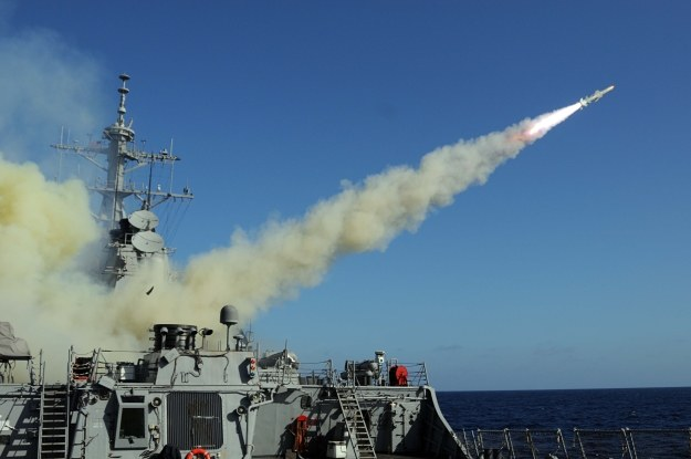 Pocisk Harpoon      Fot. U.S. Navy by Mass Communication Specialist 1st Class Jason C. Winn/Released /materiały prasowe