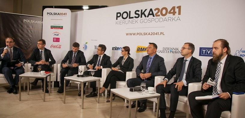 """Początek debaty """"Inwestycje Inwestycje kluczem do szybkiego rozwou"""" /Ireneusz Rek /INTERIA.PL"""