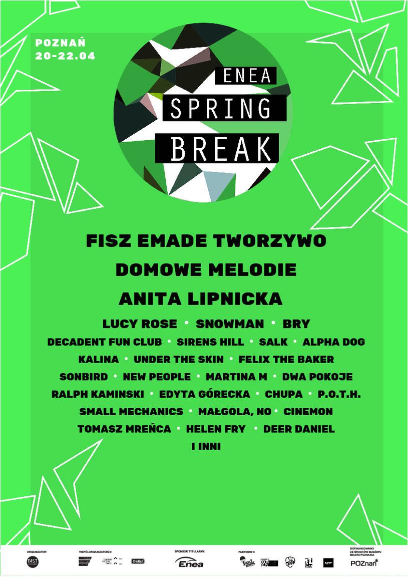 Początkowy skład Enea Spring Break 2017 /materiały promocyjne