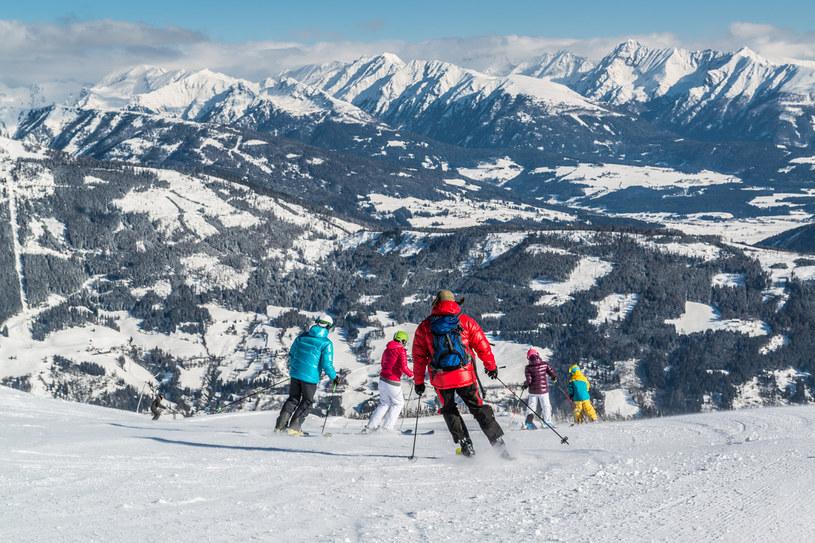 Początkujący i wytrawni narciarze znajdą tu trasy dla siebie /fot. Tourismusregion Katschberg/Rennweg /materiały prasowe