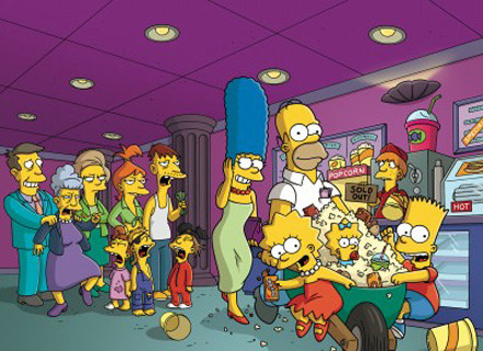 Poczta amerykańska ogłosiła głosowanie na najlepszy znaczek z Simpsonami /materiały dystrybutora