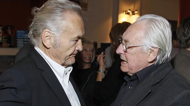 Pod apelem do Donalda Tuska podpisali się m.in. Jerzy Skolimowski i Andrzej Wajda / fot. Baranowski /AKPA