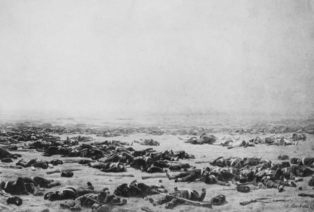 Pod Waterloo śmierć poniosło ok. 40 tysięcy żołnierzy /Getty Images