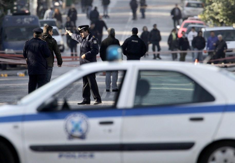 Podczas ostrzału nikt nie ucierpiał /ORESTIS PANAGIOTOY  /PAP/EPA