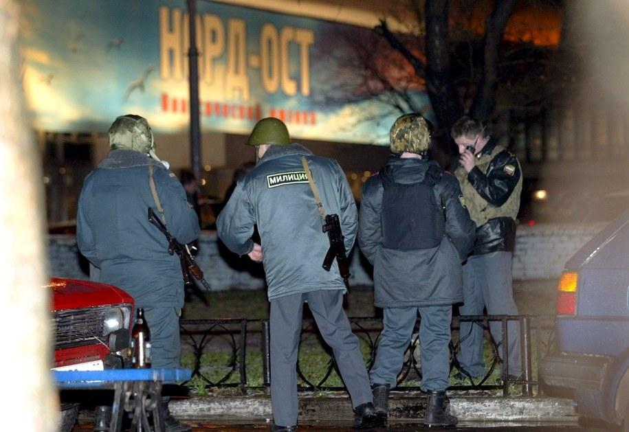 Podczas szturmu policji - w 2002 roku - zginęło ponad 130 zakładników / SERGEI CHIRIKOV  /PAP/EPA
