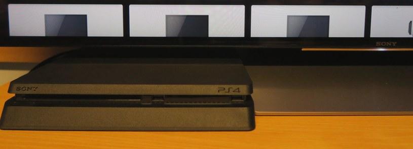 Podczas testów mieliśmy szansę podłączyć do telewizora najnowszą wersję konsoli PlayStation 4 /INTERIA.PL