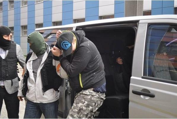 Podejrzany o fałszywe alarmy bombowe /fot. Policja /PAP
