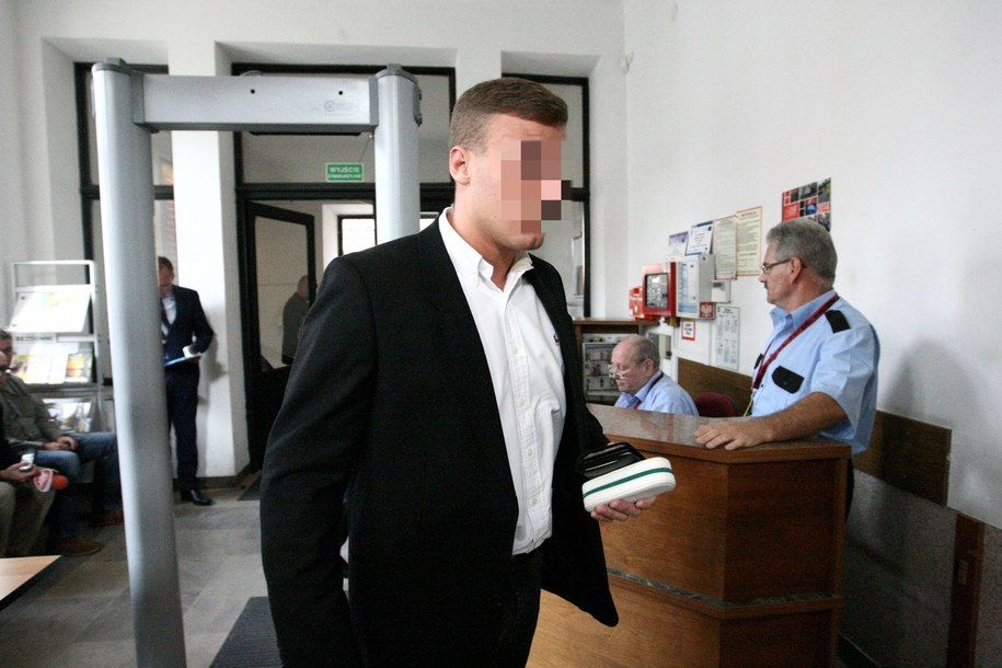 Podejrzany Robert N. /Marcin Bednarski /PAP
