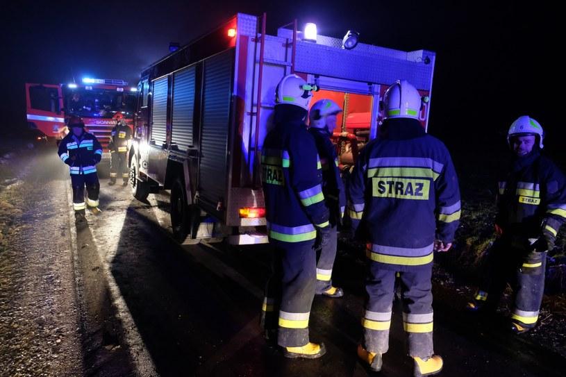 Podkarpackie: Pożar zakładu produkującego materiały reklamowe (zdjęcie ilustracyjne) /Łukasz Solski /East News