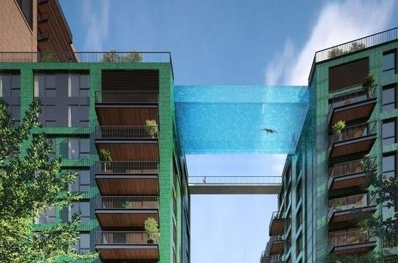 Podniebny basen w Londynie /materiały prasowe