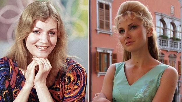 Podobieństwo Joanny Moro (po prawej) do zmarłej piosenkarki jest uderzające. Zdjęcia ucharakteryzowanej aktorki prezentujemy dzięki jej uprzejmości. /RIA Novosti Ribakov/Agencja W. Impact /East News