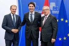 Podpisano umowę o wolnym handlu między UE a Kanadą