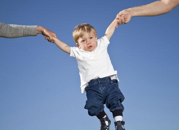 Podpowiadamy, jak sprawić, by rozstanie mamy i taty było jak najmniej bolesne dla dziecka /© Panthermedia