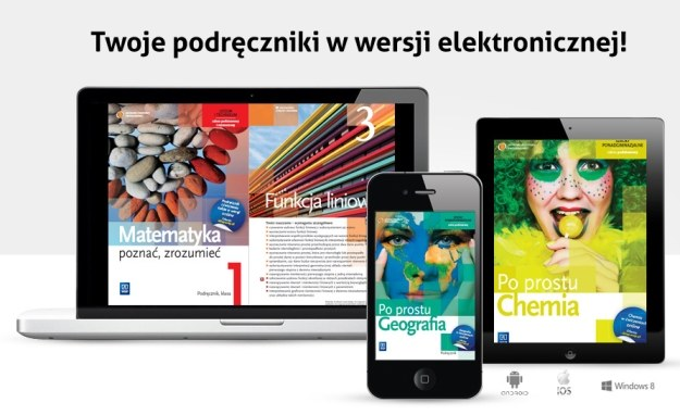 Podręczniki w wersji elektronicznej /materiały prasowe