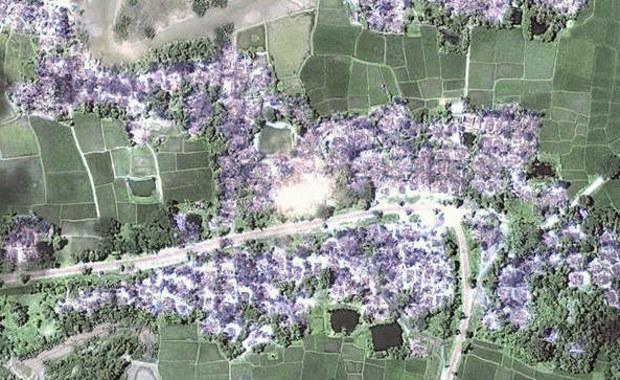 """""""Podręcznikowy przykład ludobójstwa"""". Szokujące zdjęcia satelitarne z Birmy"""