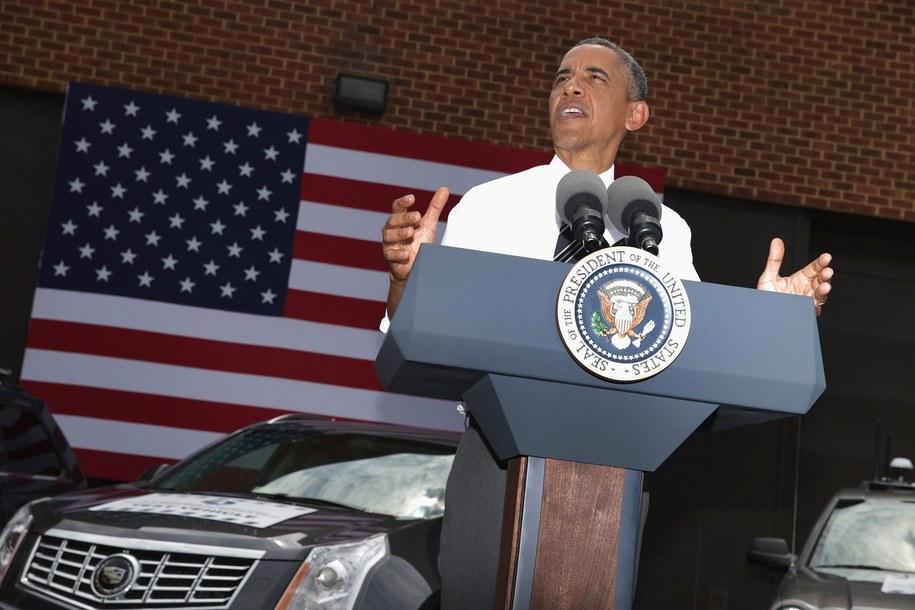 Podsłuchy były tematem rozmowy amerykańskiego prezydenta z niemiecką kanclerz /Chip Somodevilla /PAP/EPA