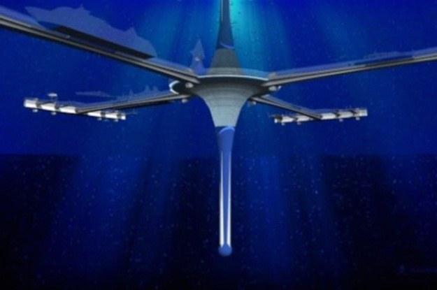 Podwodne miasto Gyre to konieczność czy luksus dla filantropów? /Internet