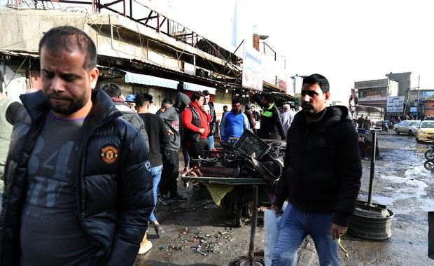 Podwójny zamach w Bagdadzie. Jest wiele ofiar