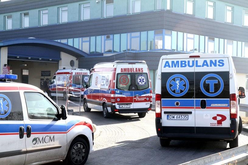 Pogotowie ratunkowe (zdj. ilustracyjne) /JAROSLAW JAKUBCZAK / POLSKA PRESS /East News