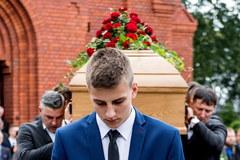 Pogrzeb Adama Wójcika. Koszykarz spoczął na Cmentarzu Grabiszyńskim we Wrocławiu