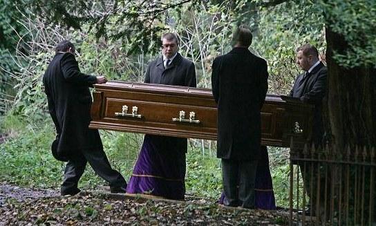 Pogrzeb Aleksandra Litwinienki /AFP