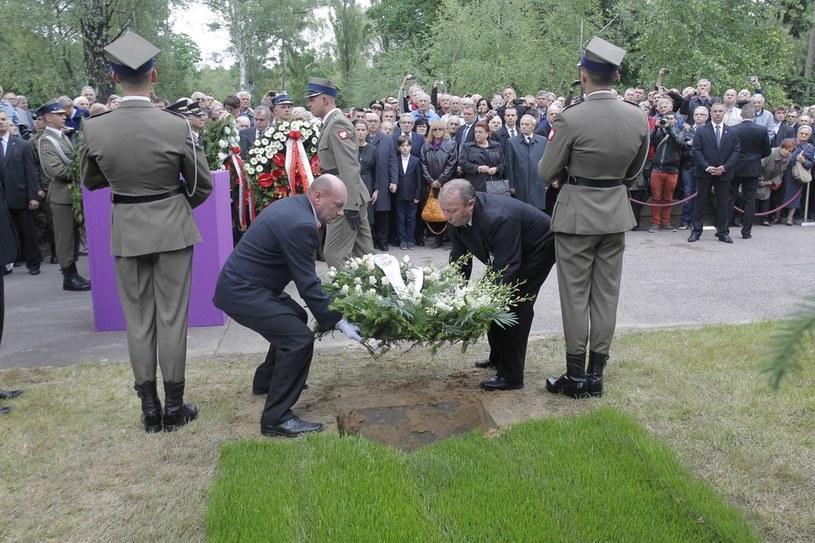 Pogrzeb gen. Wojciecha Jaruzelskiego na Powązkach /WOJCIECH ARTYNIEW /Agencja SE/East News