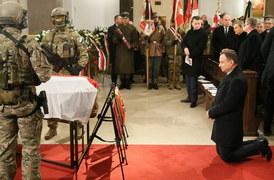 """Pogrzeb generała Janusza Brochwicz-Lewińskiego """"Gryfa"""""""