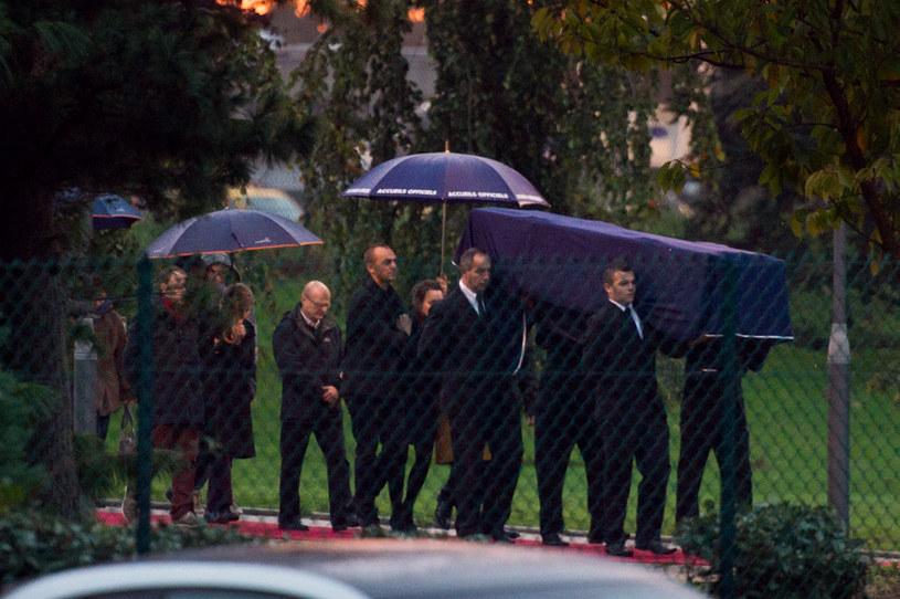 Pogrzeb Ghislaine Dupont /AFP
