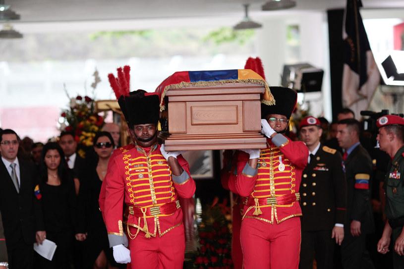 Pogrzeb Hugo Chaveza /AFP