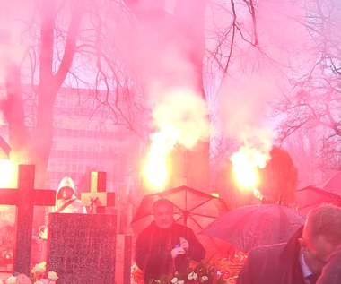 Pogrzeb Janusza Wójcika. Wideo